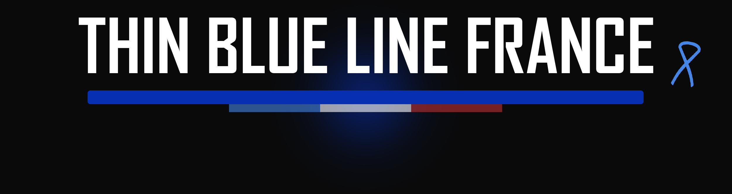 THIN BLUE LINE FRANCE